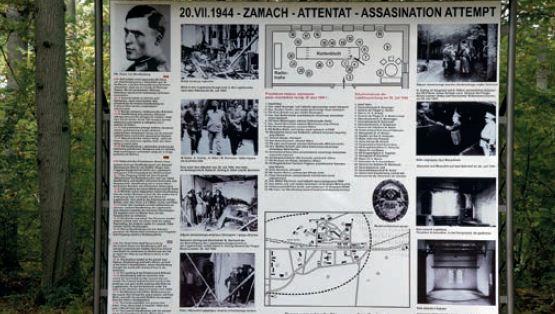 Tablica pamiątkowa na cześć Clausa von Stauffenberga