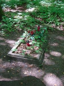 Cmentarz na terenie kwatery06